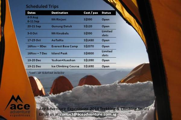 Scheduled Trips Update 2