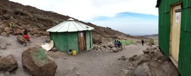 School Hut Camp at 4800m.