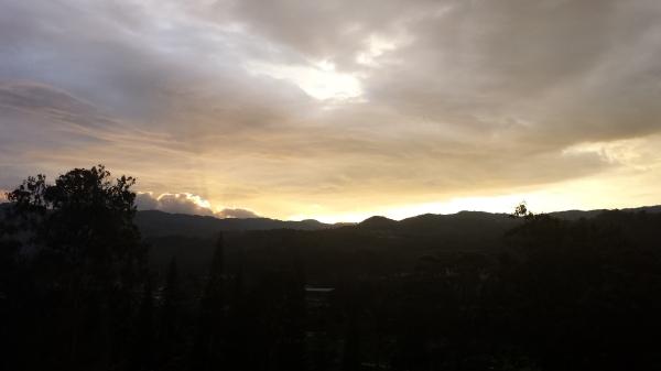 Sunset at TRCC